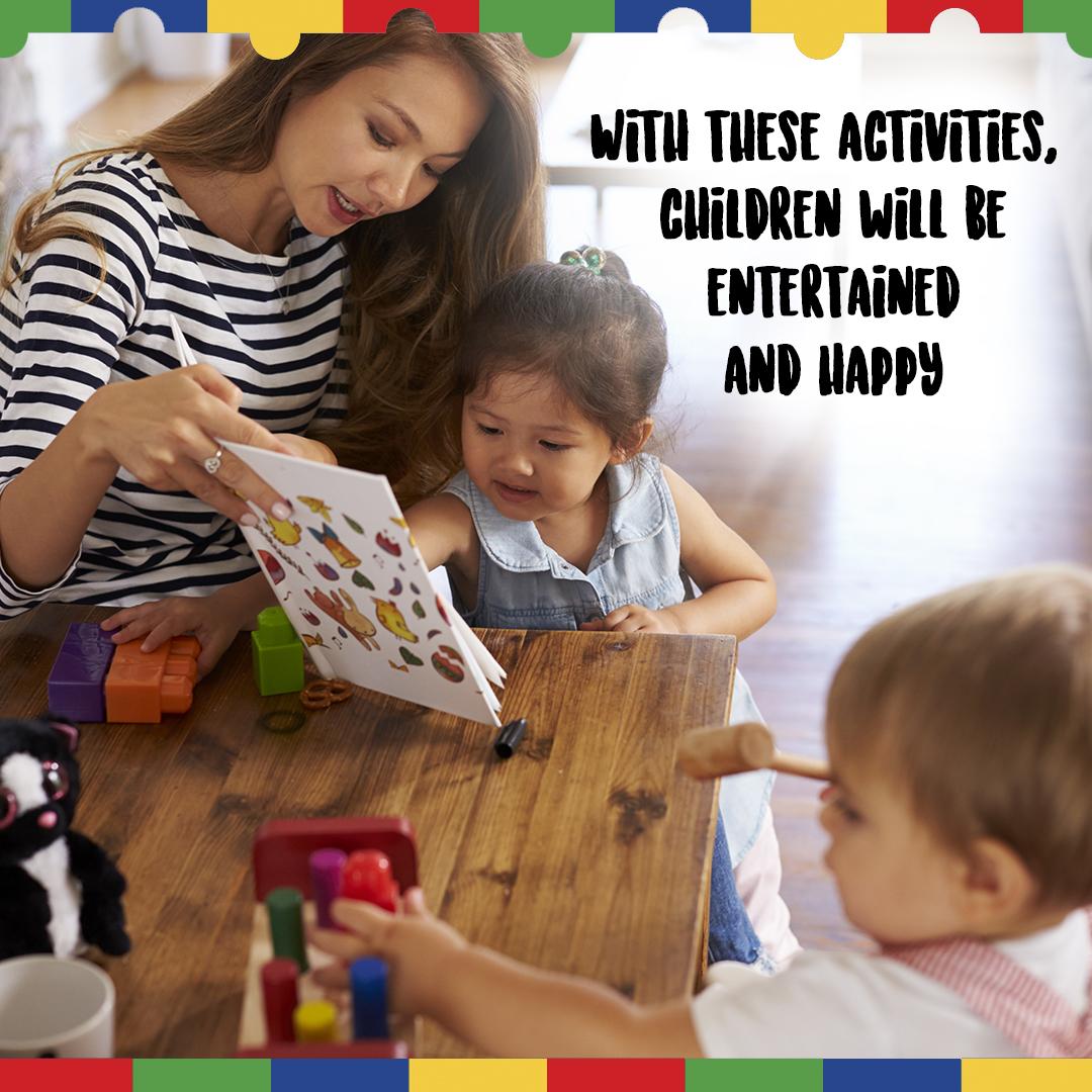 Fun activities for ASD kids.